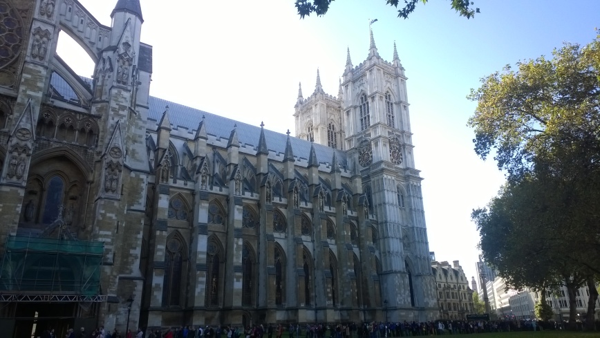 Westminster Abbey - Emma's Picture Postcards