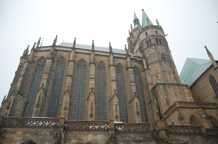Erfurt Cathedral - Emma's Picture Postcards