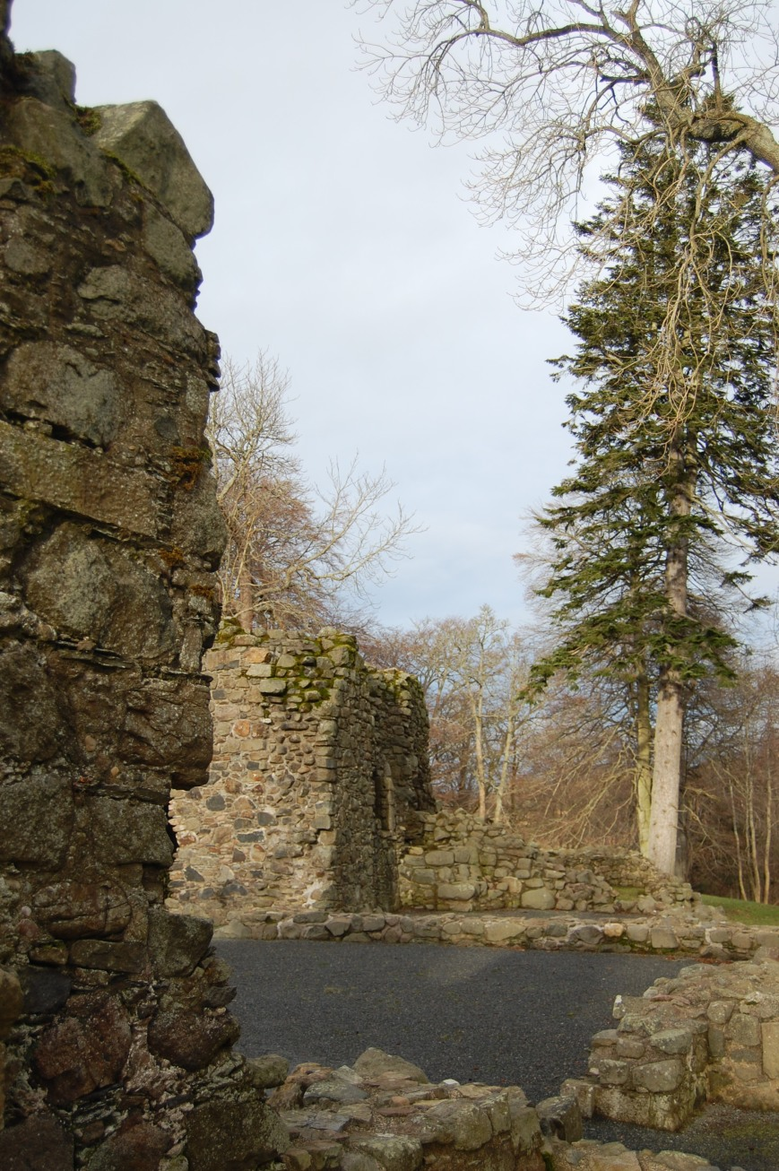 Huntly Castle - Emma's Picture Postcards
