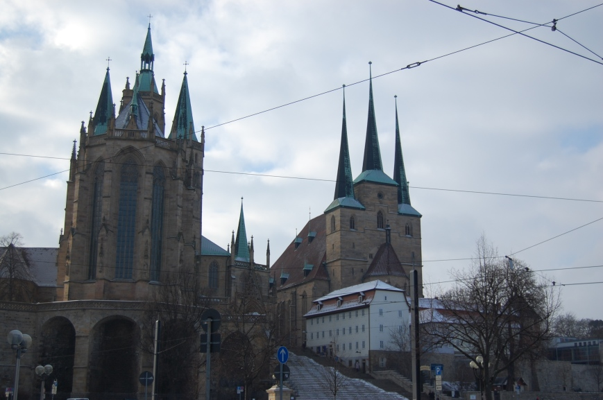 Ilmenau Cathedral - Emma's Picture Postcards