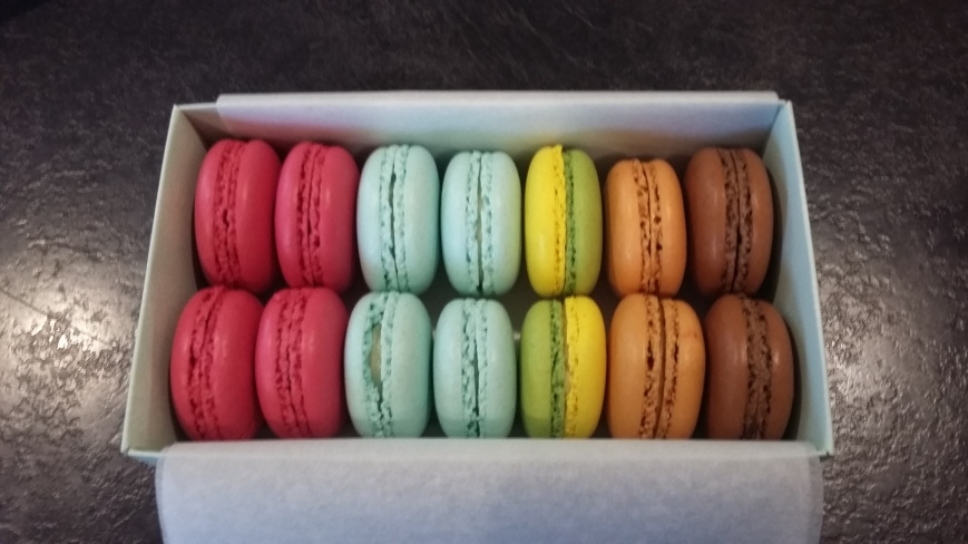 Almondine Macarons - Emma's Picture Postcards
