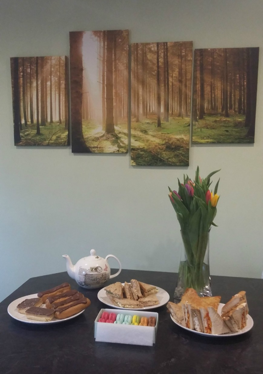 Afternoon Tea - Emma's Picture Postcards