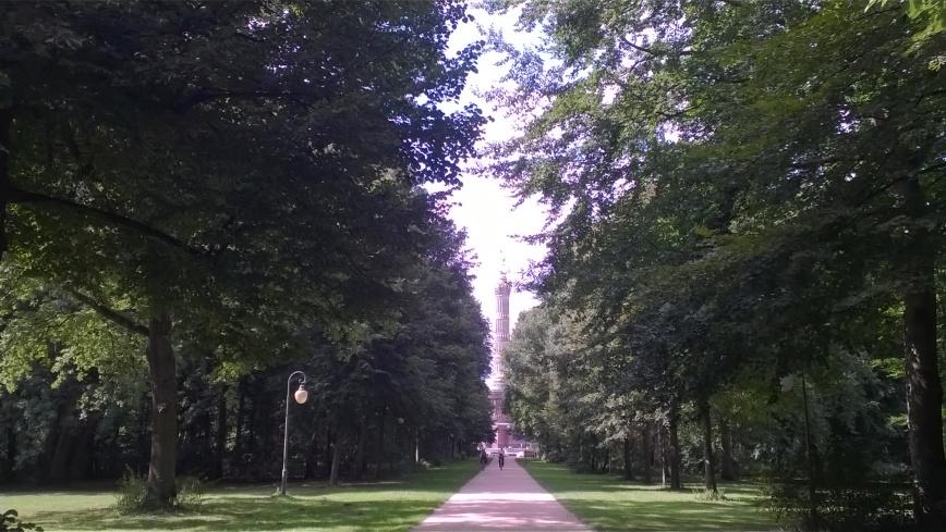 Tiergarten, Berlin - Emma's Picture Postcards
