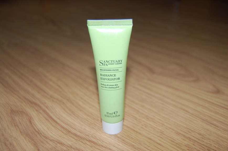 Sanctuary Spa Radiance Exfoliator - Emma's Picture Postcards