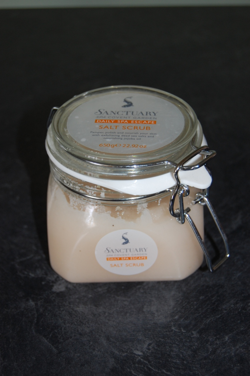 Sanctuary Spa Salt Scrub - Emma's Picture Postcards