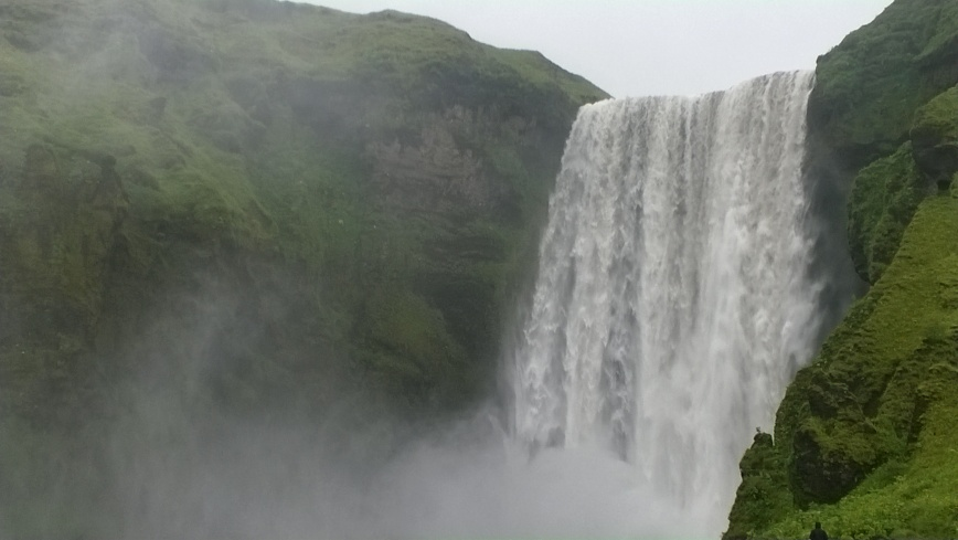 Skógafoss, Iceland - Emma's Picture Postcards