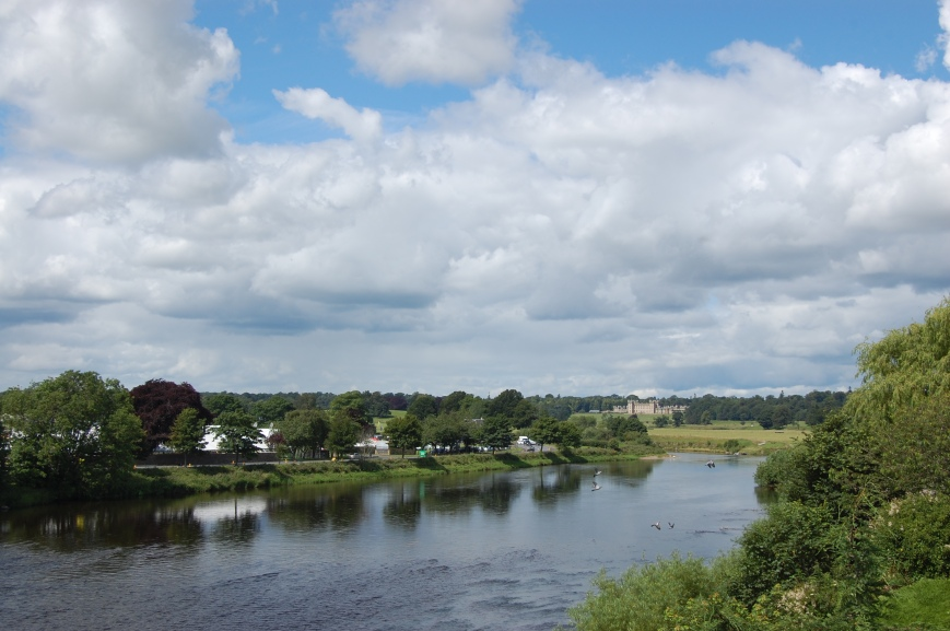 River Tweed, Kelso - Emma's Picture Postcards