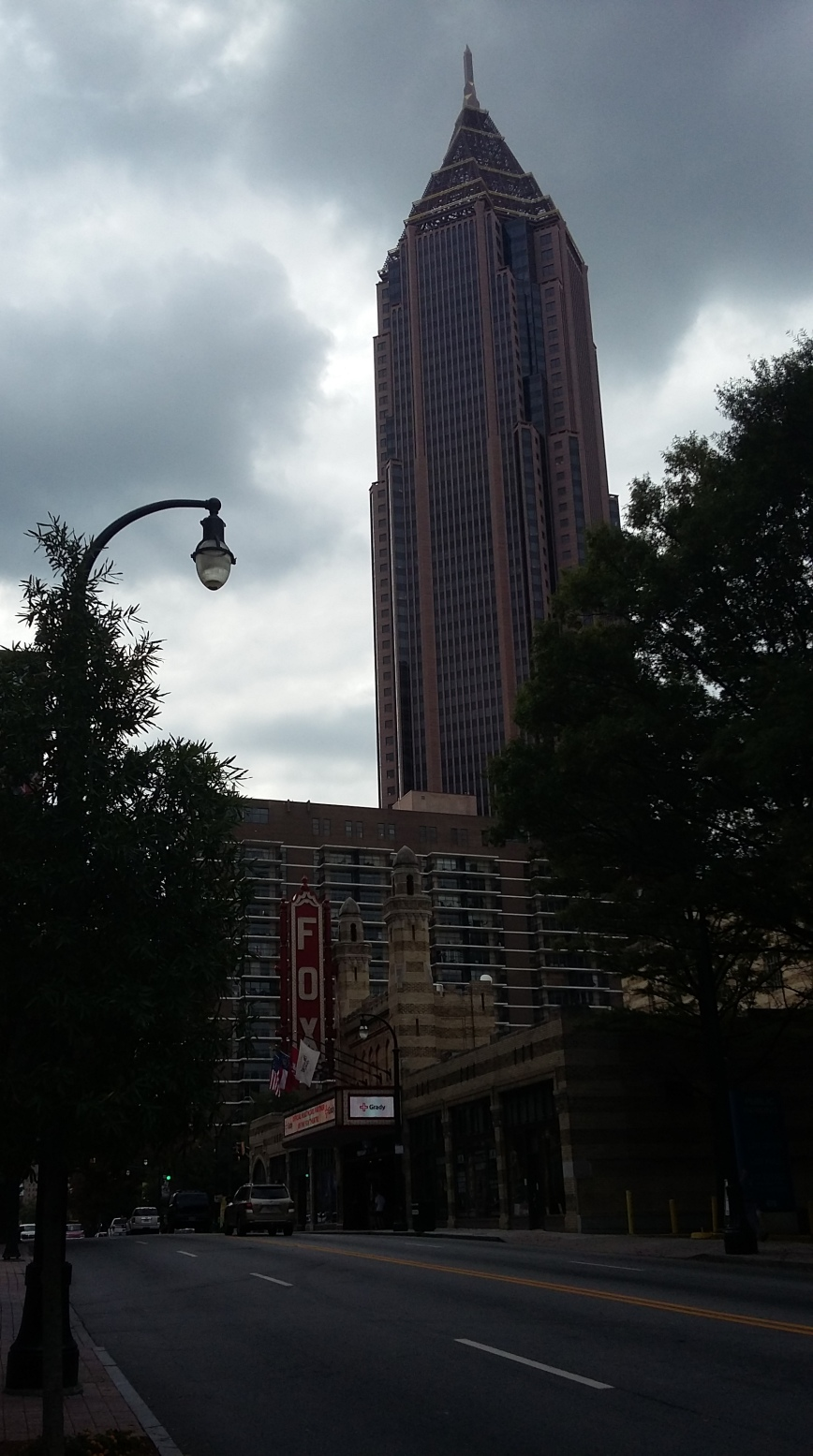 Fox Theatre and Emory University Hospital, Atlanta - Emma's Picture Postcards