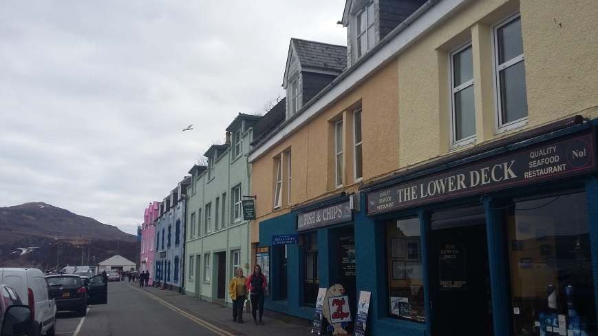 Portree, Skye - Emma's Picture Postcards