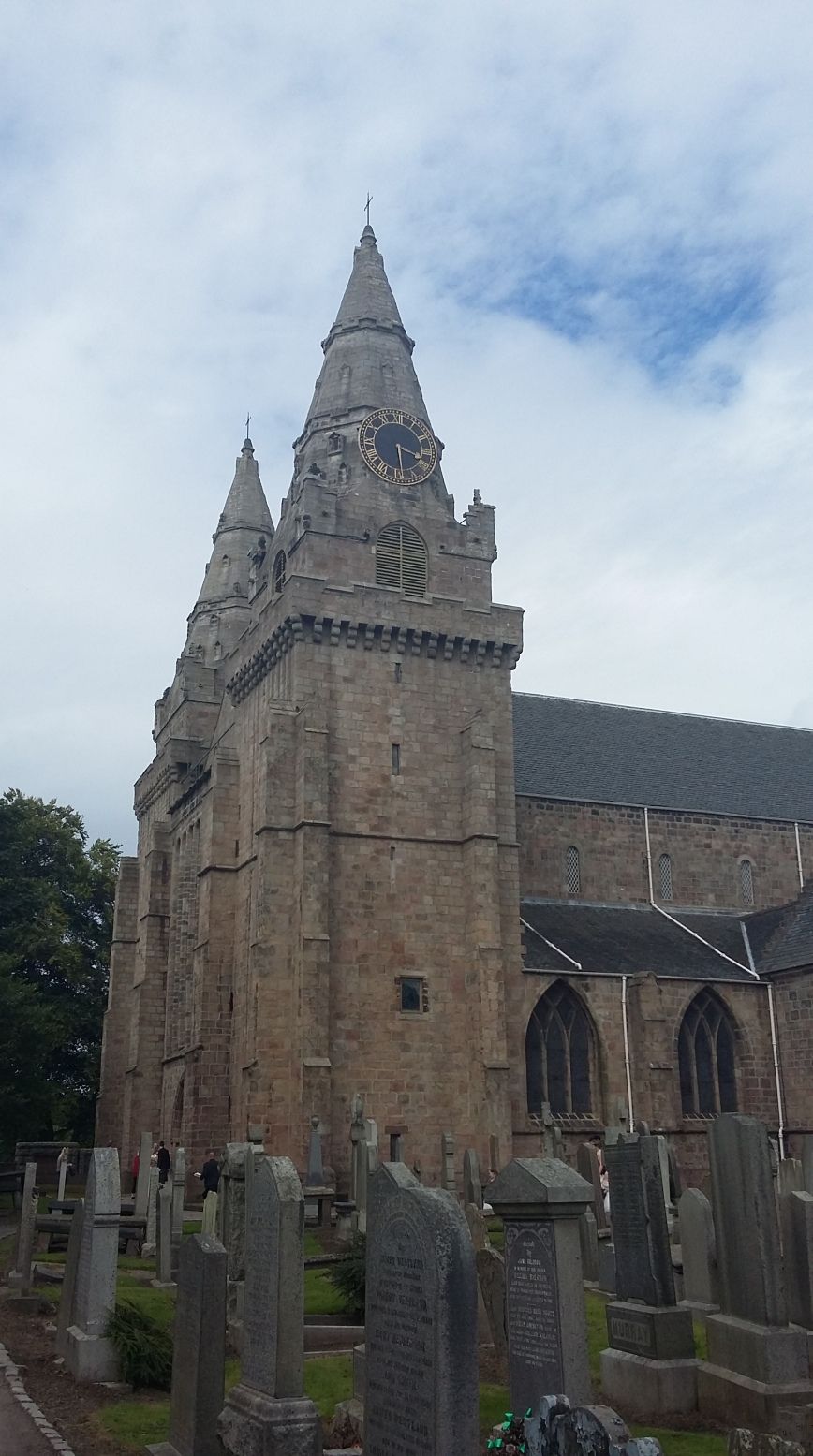 St Machar's Cathedral, Aberdeen - Emma's Picture Postcards