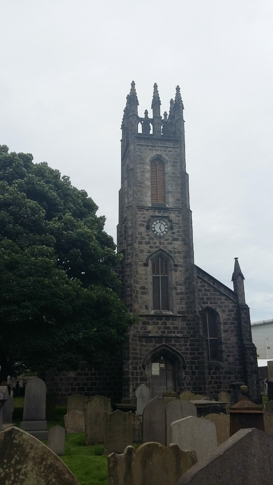 East St Clement's Church, Aberdeen - Emma's Picture Postcards