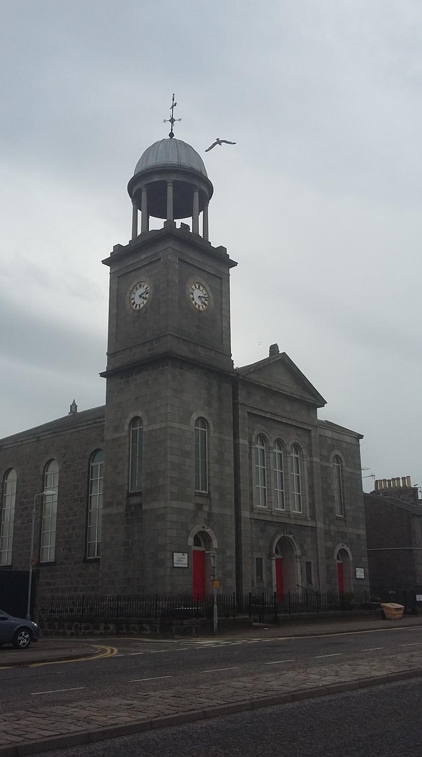 St Stephens Parish Church, Aberdeen - Emma's Picture Postcards
