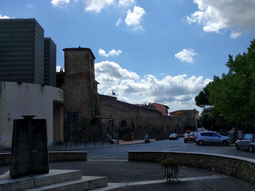 Piazza della Repubblica, San Casciano in Val di Pesa, Italy - Emma's Picture Postcards