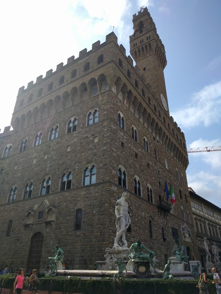 Pallazzo Vecchio, Florence, Italy - Emma's Picture Postcards
