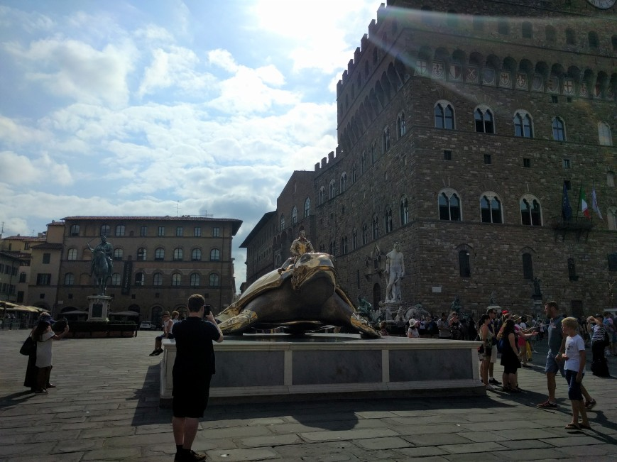 Piazza della Signoria, Florence, Italy - Emma's Picture Postcards