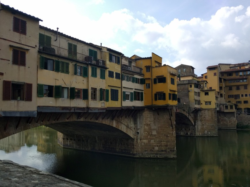 Ponte Vecchio, Florence, Italy - Emma's Picture Postcards