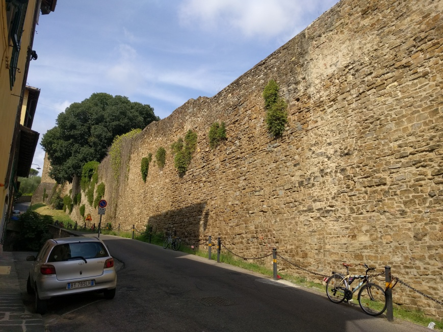 City Walls, Florence, Italy - Emma's Picture Postcards