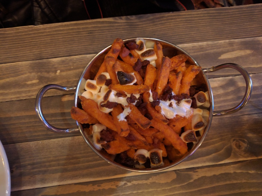 Sweet Potato Fries, Filthy Gorgeous, Aberdeen - Emma's Picture Postcards